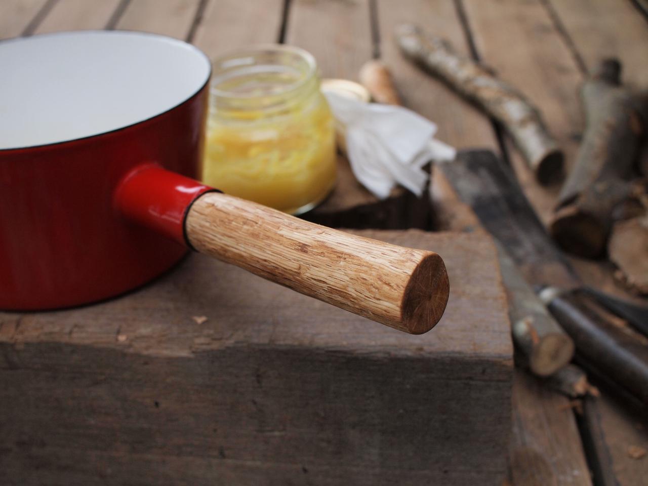 画像: 切って、削って、つくった夫お手製。自分たちで修理すれば、好みの長さにできるし、手によくなじむ