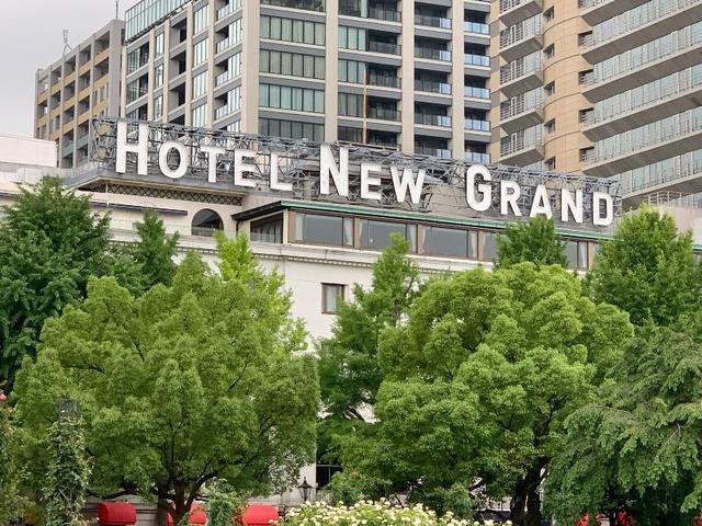 画像: 定宿のひとつ、神奈川・横浜にある「ホテルニューグランド」