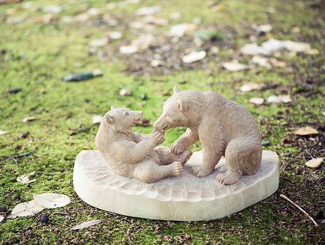 画像: 《語り合う熊》2018年、個人蔵