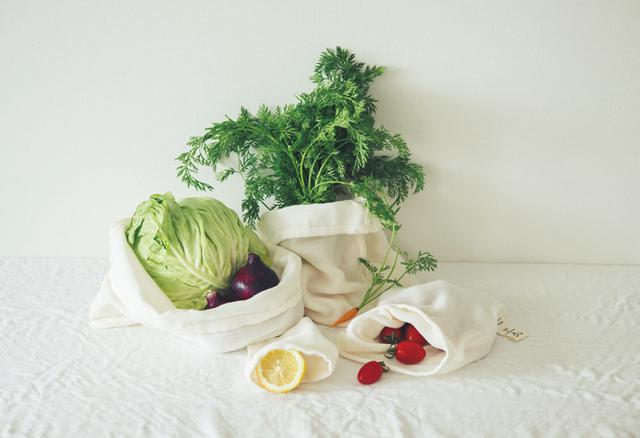 画像: C マエムキッズ&ベビー 野菜のおくるみ SS、S、M、Lのセット 1名