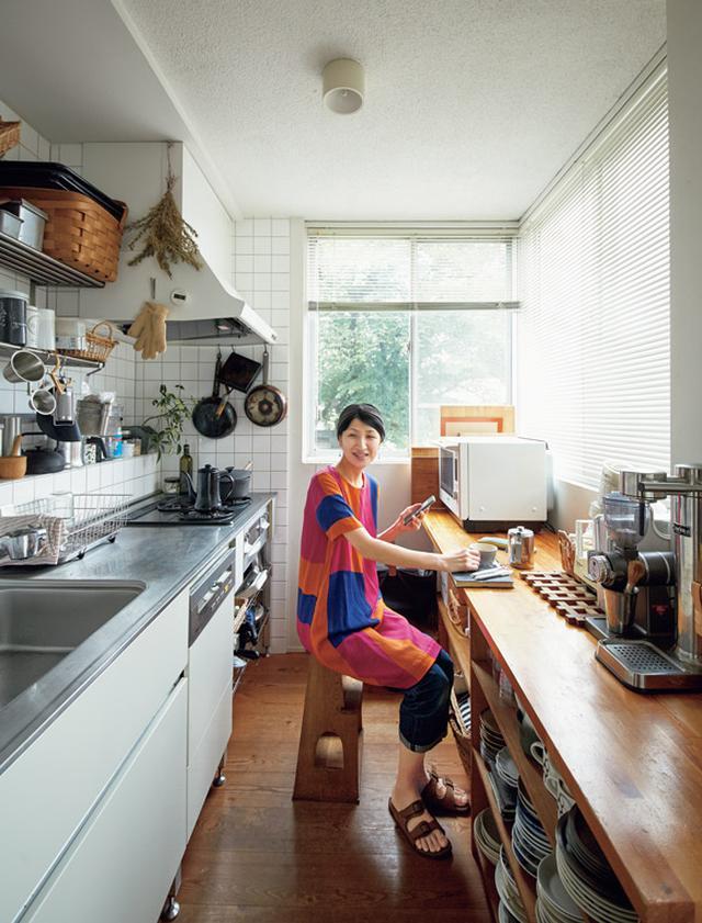 画像: 新しい暮らし方 仕事が同居する台所