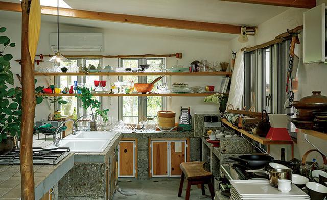 画像: 毎日が楽しくなる 暮らしをつくる台所