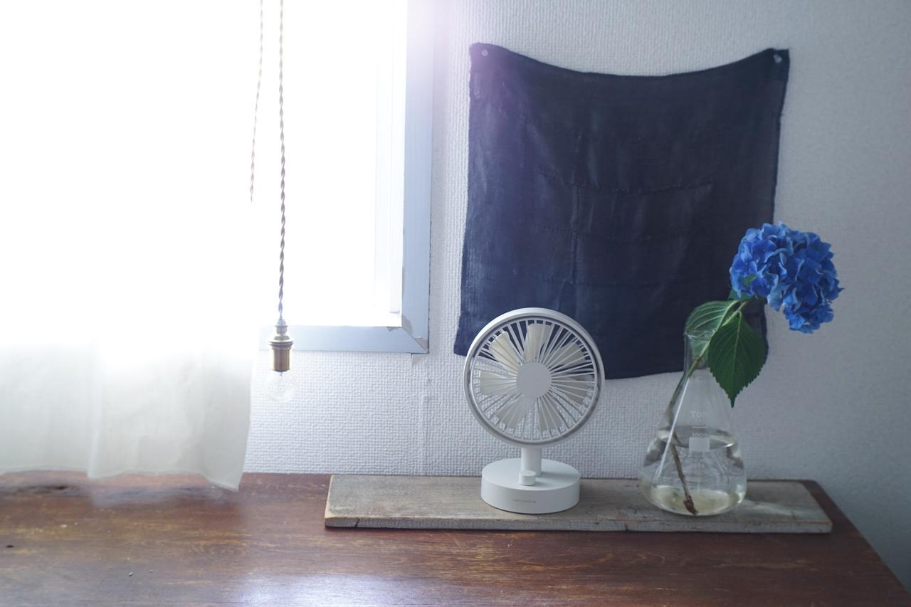 画像1: 「扇風機は場所をとる?」