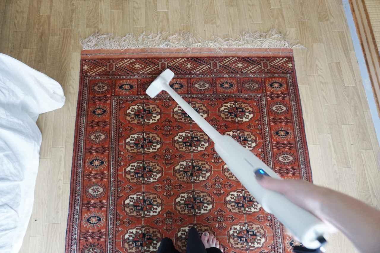 画像1: 掃除のコツ3: 掃除機は小さくてよかったんだ!