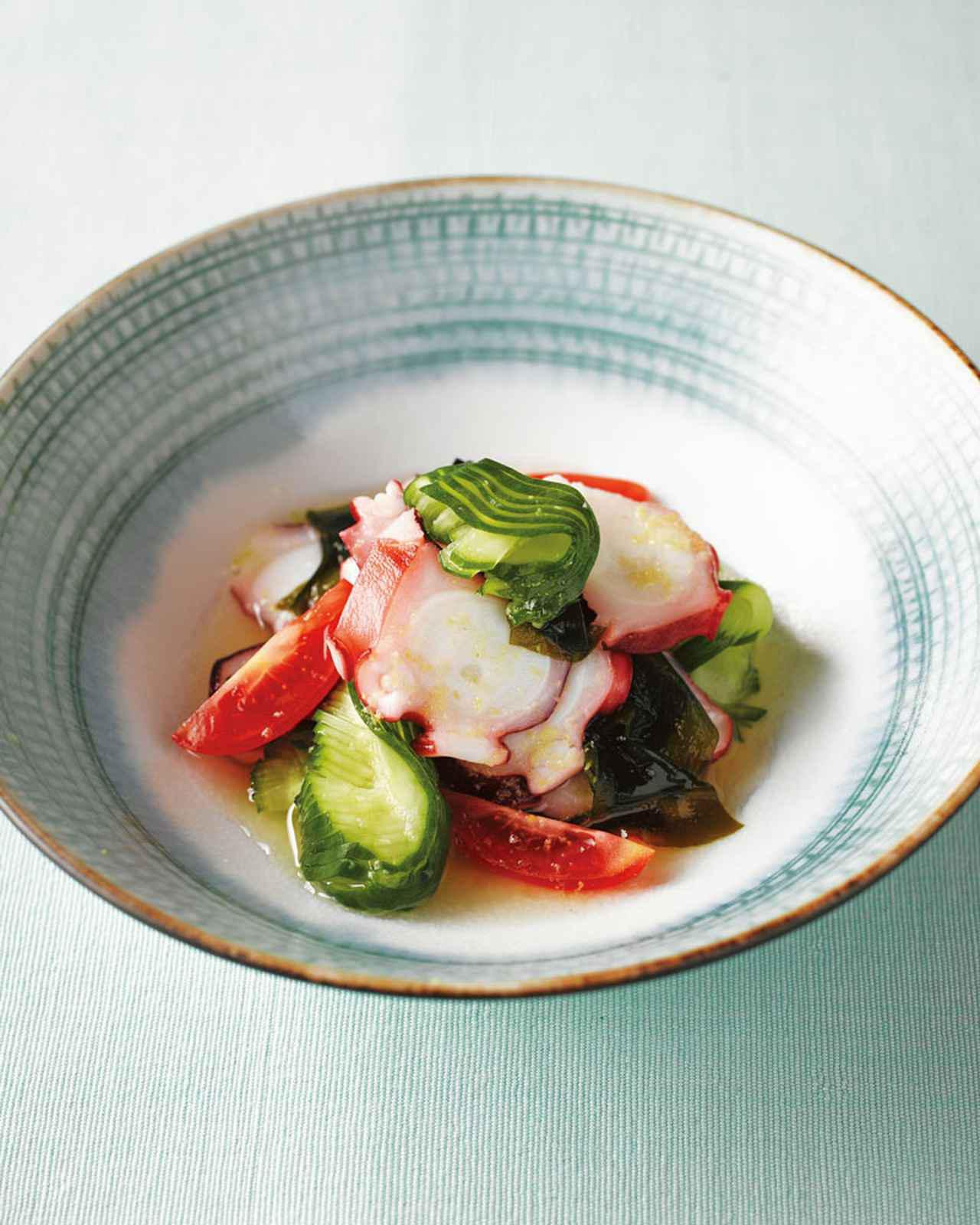 画像: 定番の酢のもの「たこときゅうりの三杯酢」のつくり方|季節の魚料理「たこ」