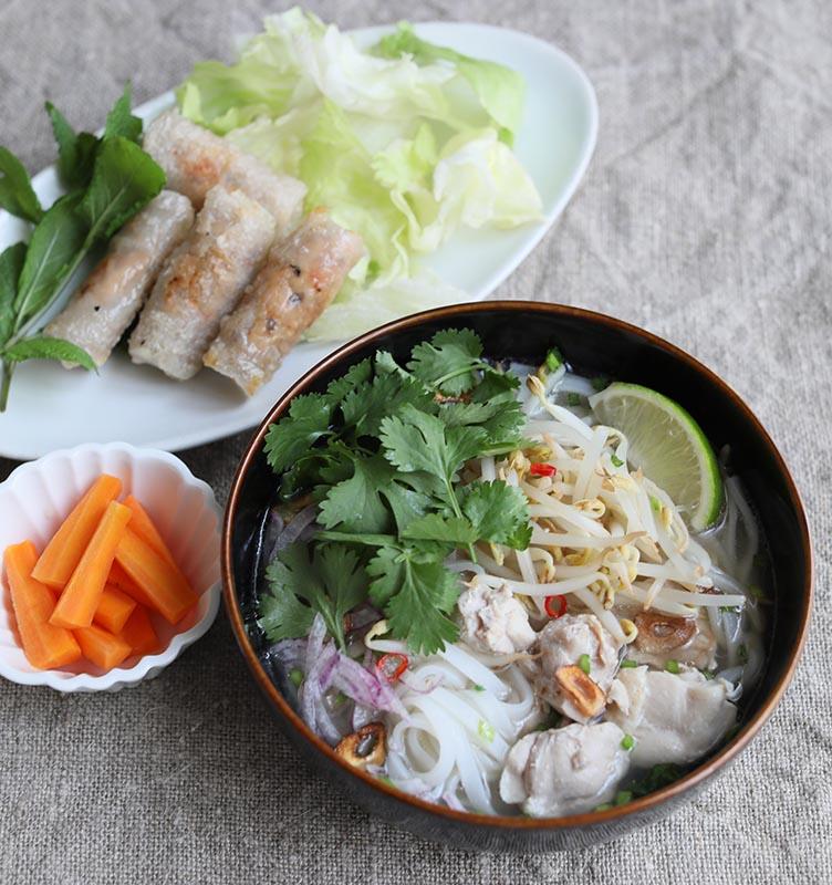 画像: ベトナム風フォーでひと皿レシピ