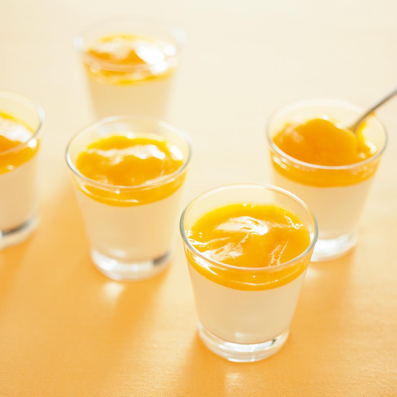 画像: マンゴー ココナッツ プリンのつくり方|グラスでつくるゼリーとプリン/飯塚有紀子さん