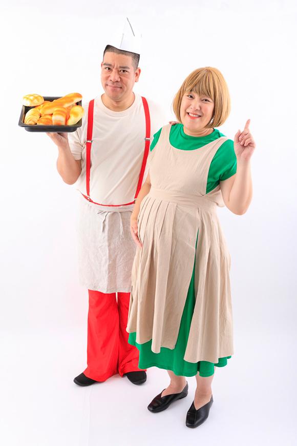 画像1: 「へそ祭り」とコスプレでお腹を出さないマタニティー撮影