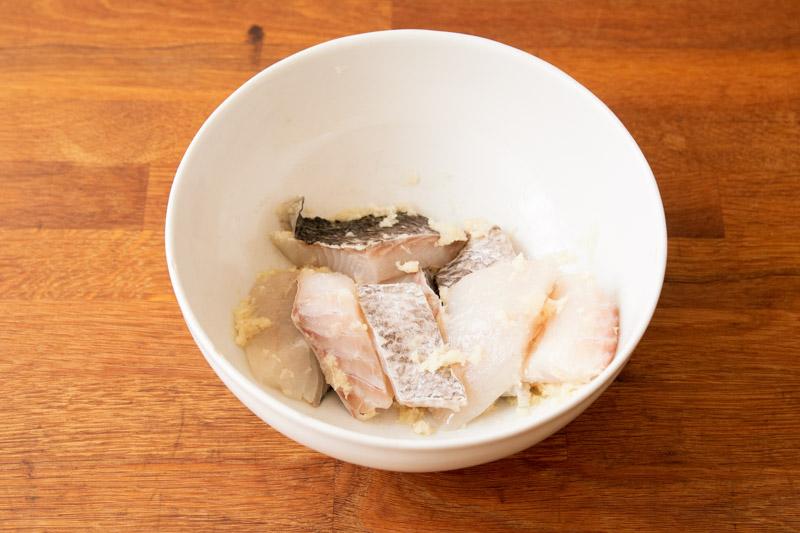 画像: 準備(魚)