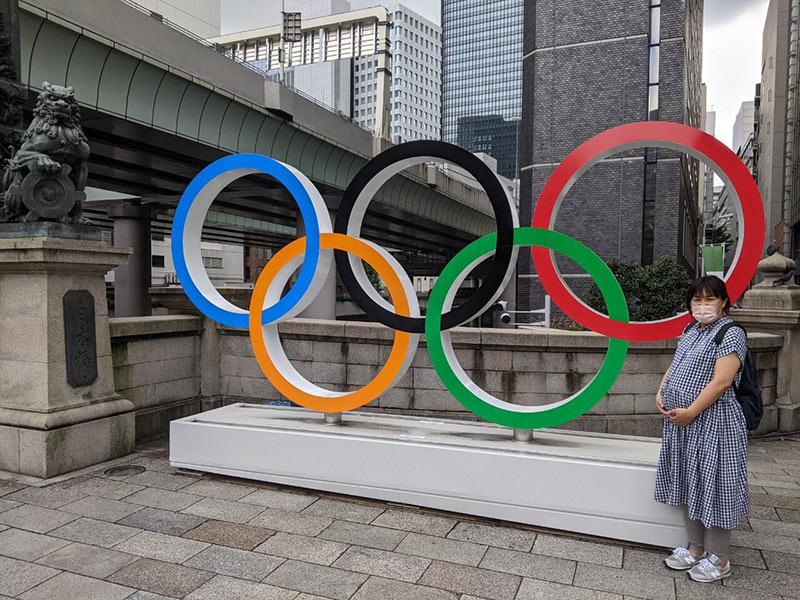 画像2: お腹のビッグベイビーとオリンピック