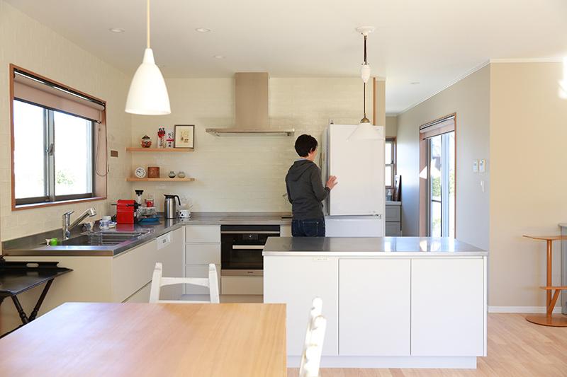 画像1: 家族が使いやすいオープンキッチンの工夫