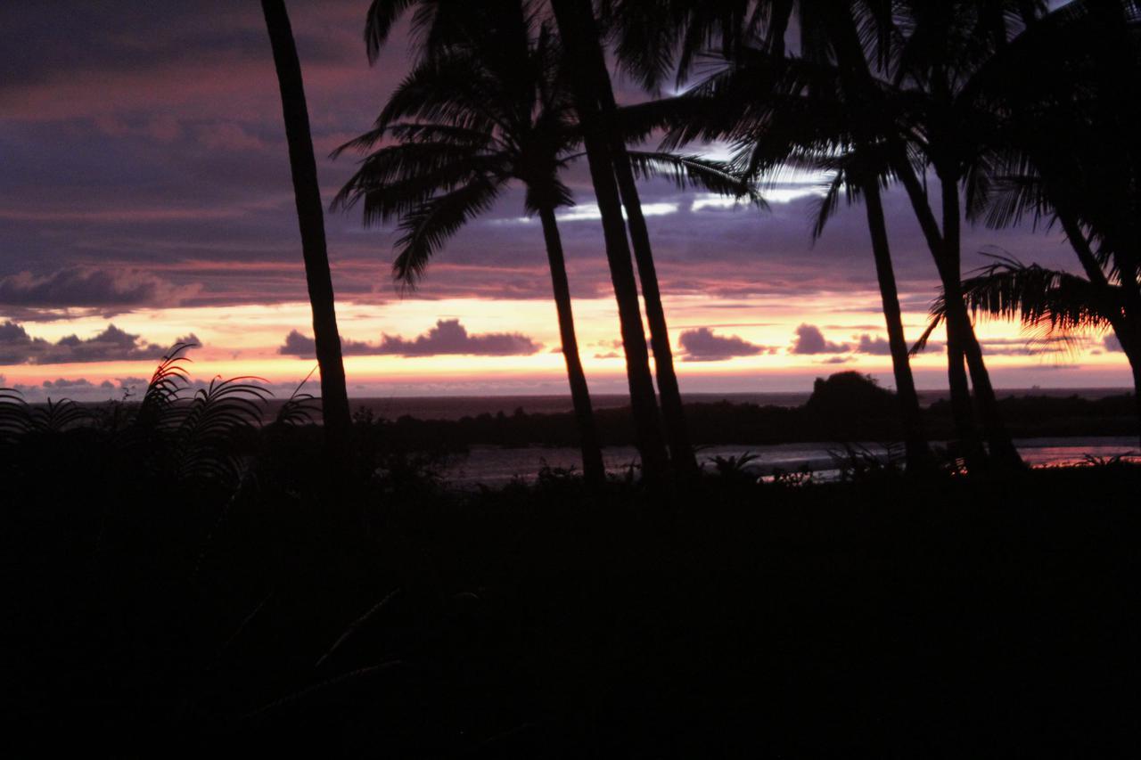 画像: ロッジの前に広がるビーチ。こんなに毎日夕日を眺めたのは人生初めての経験でした