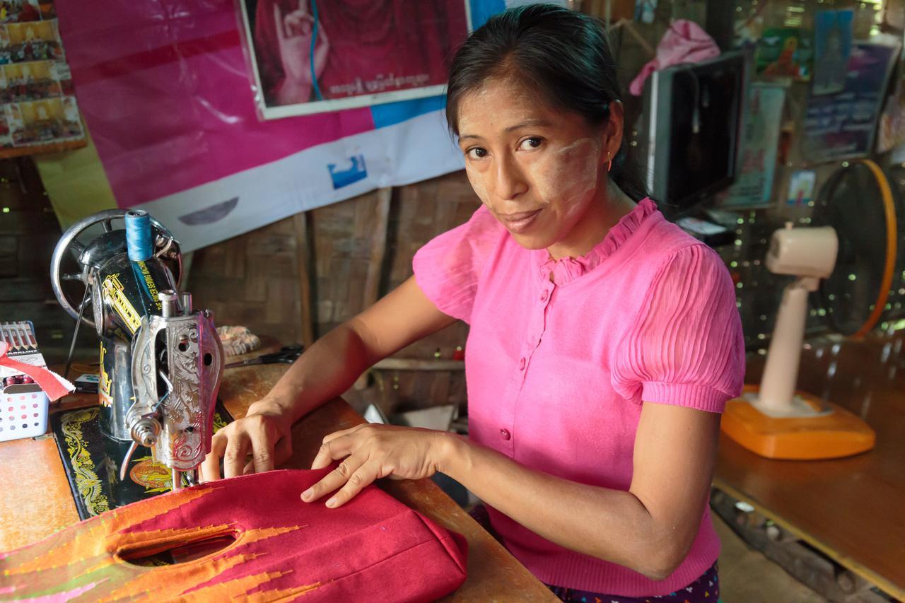 画像: 美しい織物のバッグmoringa(モリンガ)公式通販サイト