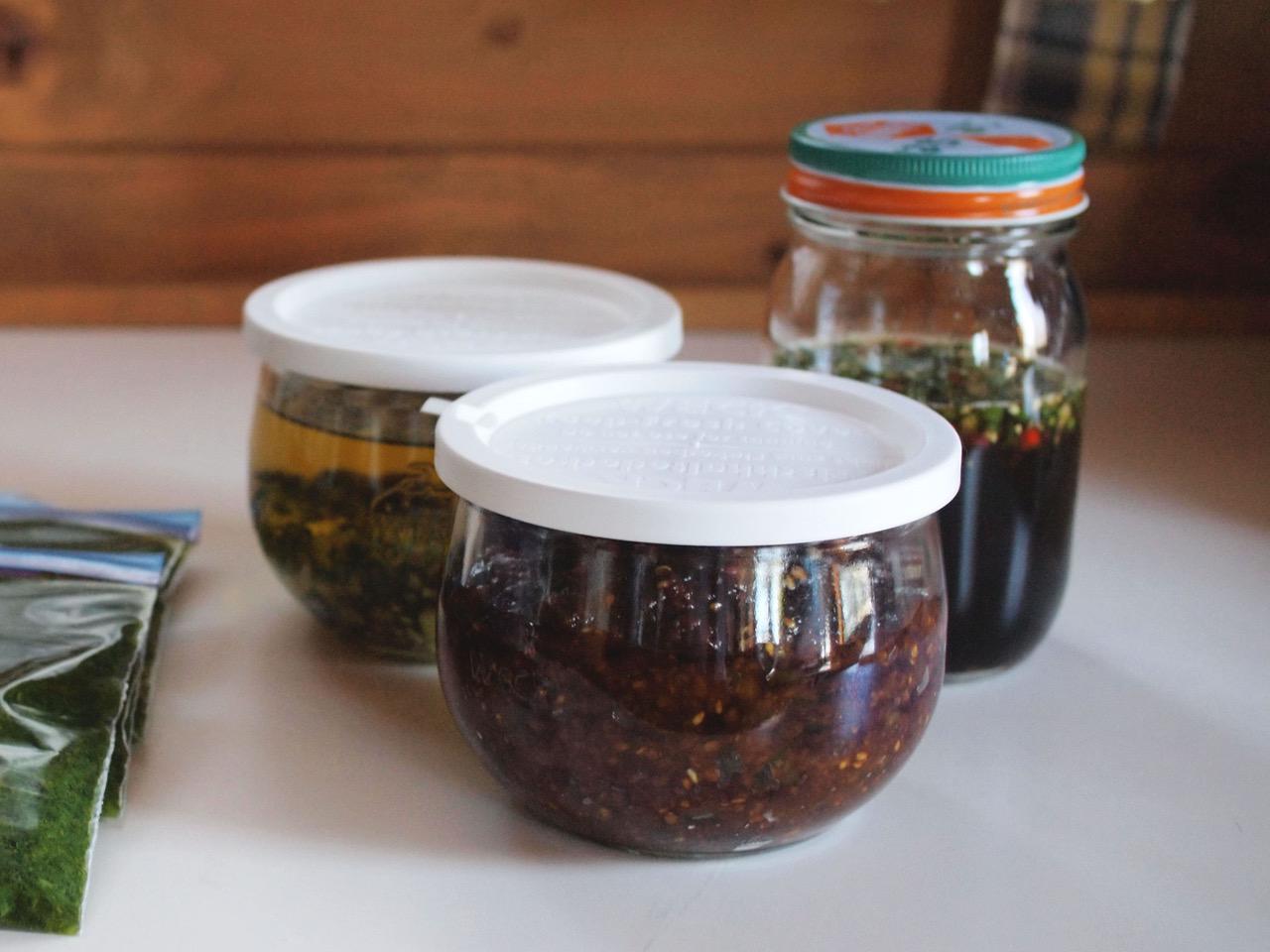 画像: イタリア・タイ・日本料理で使える3カ国の簡単瓶詰めが完成
