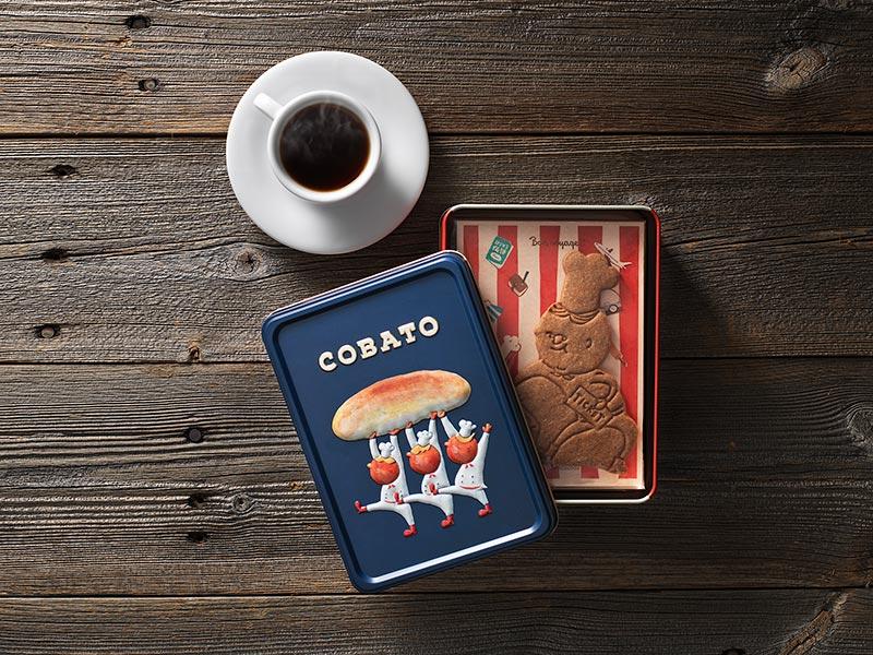 画像1: COBATOスペキュロス缶(3個入り) 1,620円