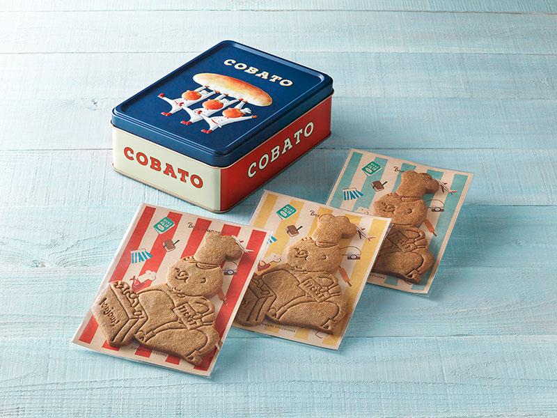画像2: COBATOスペキュロス缶(3個入り) 1,620円