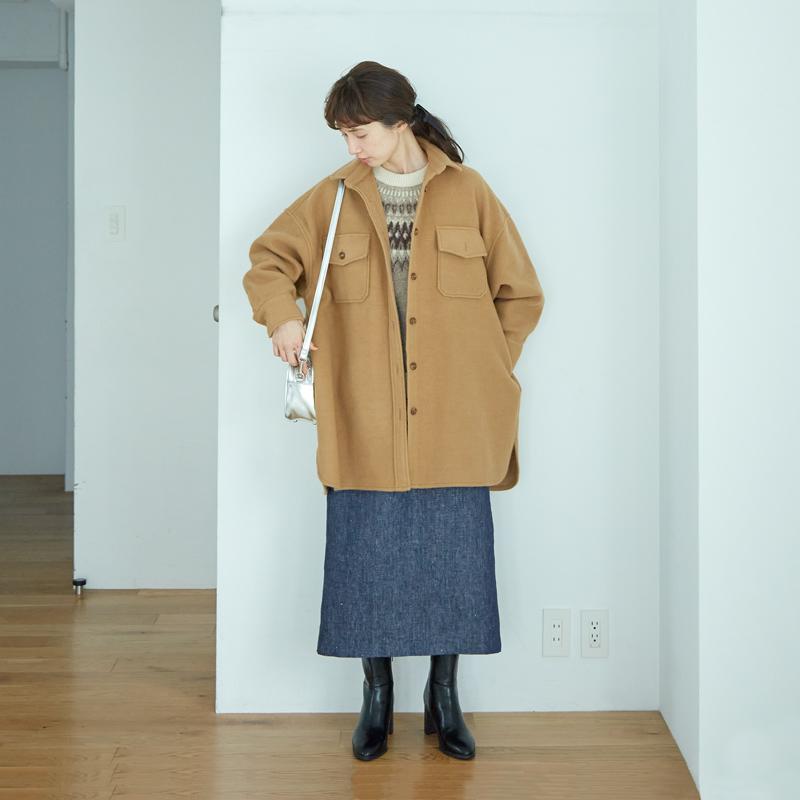画像: ジャケット 9,790円/アヴェクモワ(フェリシモ)