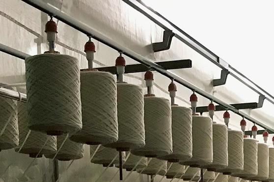 画像: 高い製糸技術