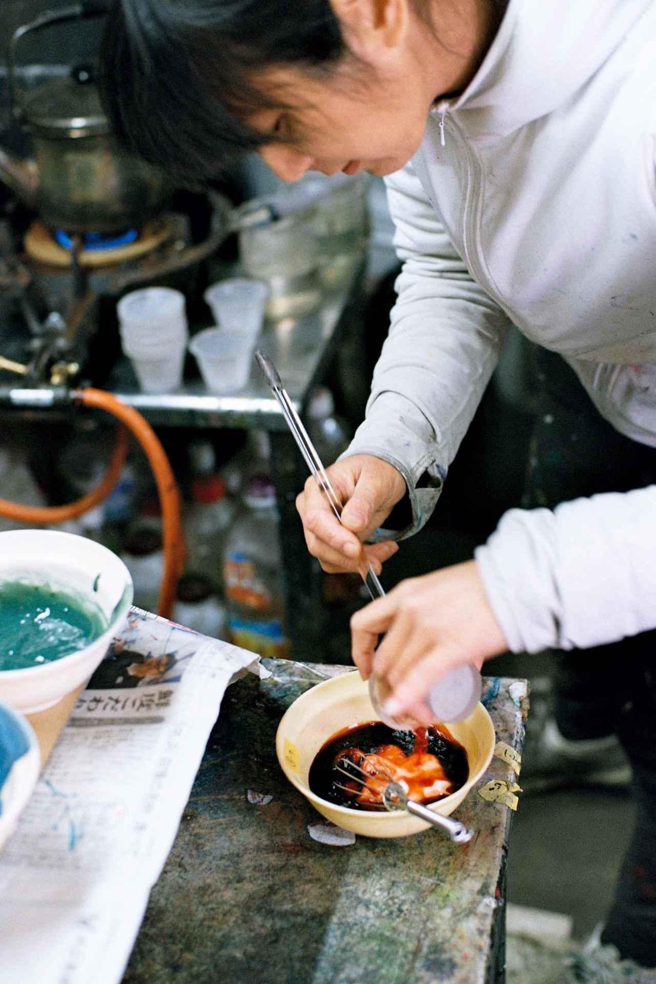 画像2: 染色工場「奥田染工場」