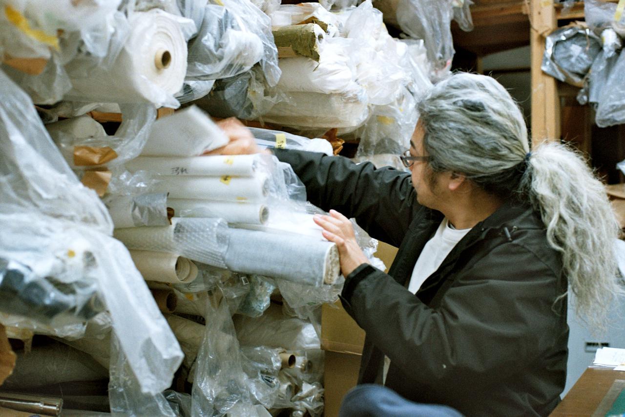 画像: 「奥田染工場」四代目のヒロさん