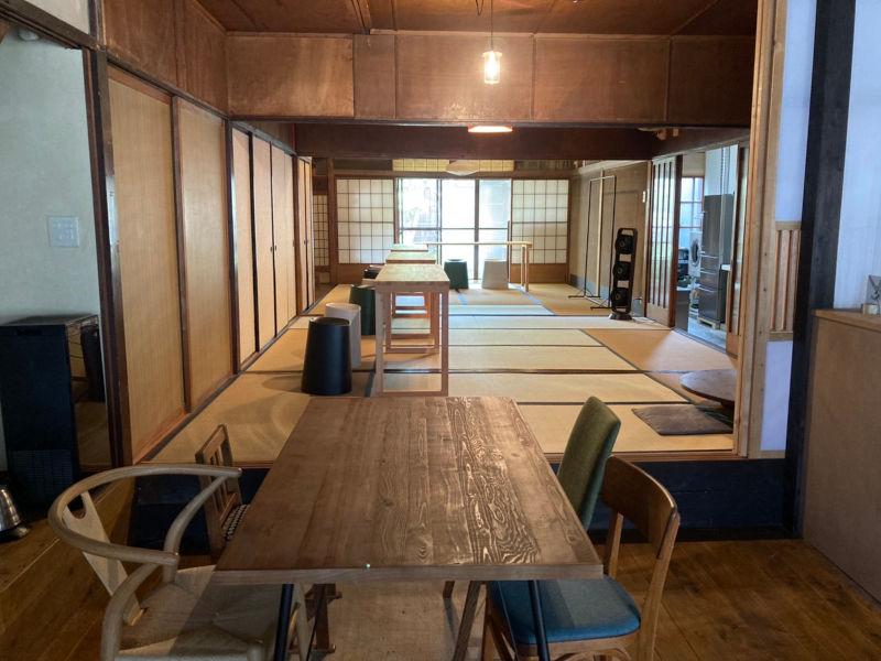 画像: 1階の座敷はイベントスペース。町家の走り庭にキッチンもあり、できることが広がる