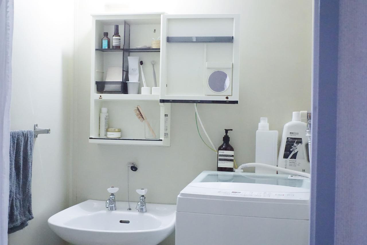 画像: 「ニトリ」の白い洗濯機