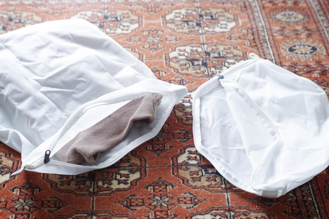 画像: ポリエステル両面使える洗濯ネット