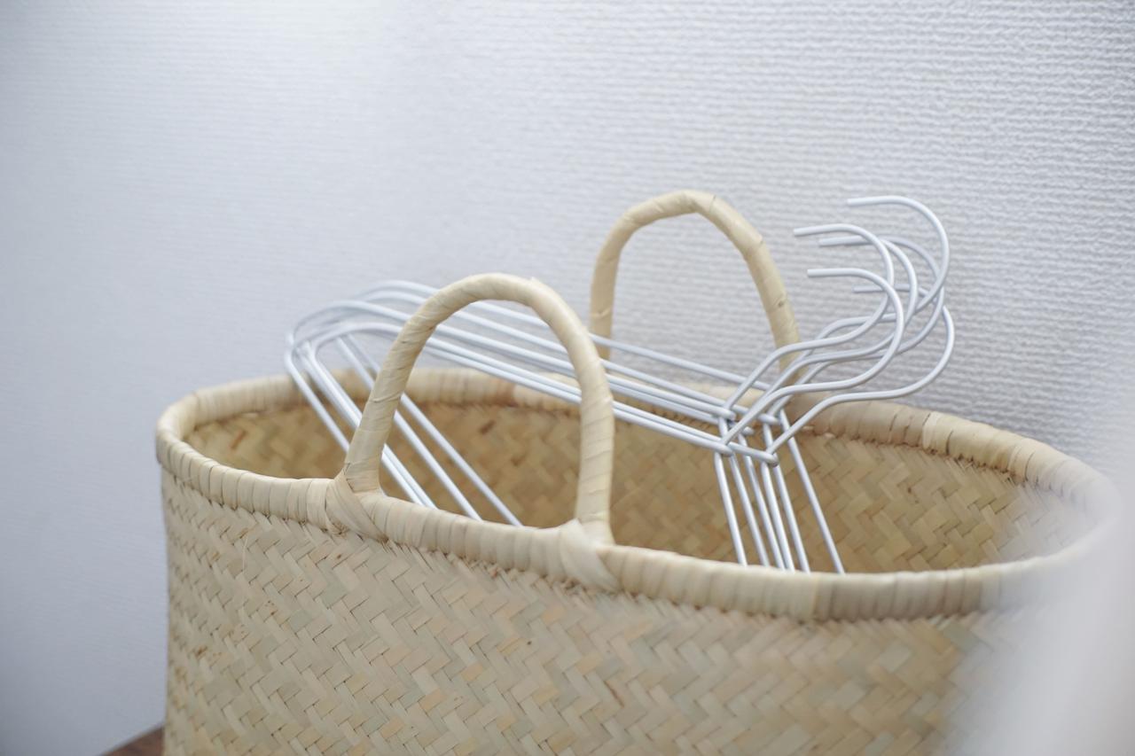 画像: アルミ洗濯用ハンガー