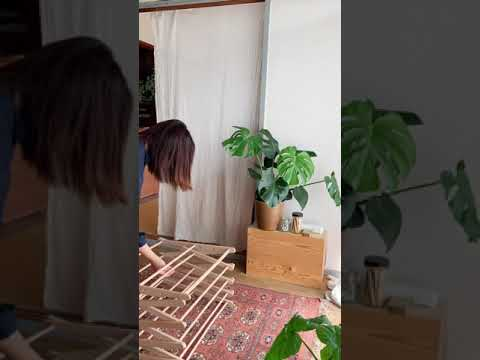 画像: 買ってよかった洗濯アイテム「木製の部屋干しハンガーラック」を使う。ポーランド発「BIERTA」のクロスドライヤー/インスタグラマーしょ〜この暮らしの見直し|天然生活web youtu.be