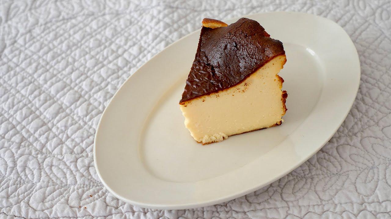 画像: はなのお菓子 バスクチーズケーキをつくる 天然生活web youtu.be