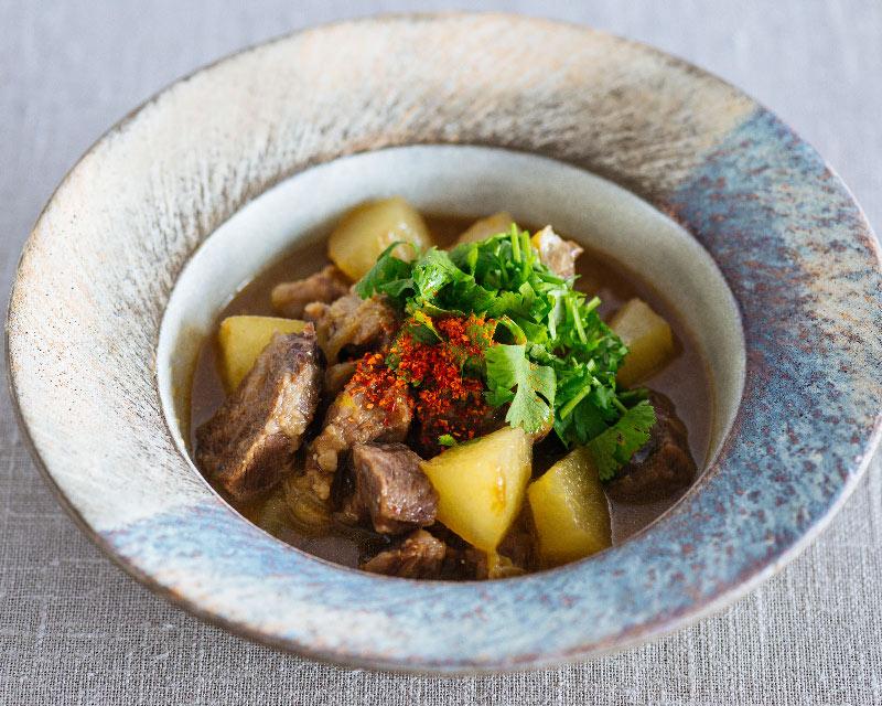 画像: 梨と牛すね肉の中華煮込みのつくり方