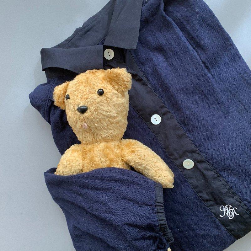 画像: 28年添い寝しているテディベアの『JOLLY』。背中にファスナーがついててヘソクリ隠してます。笑