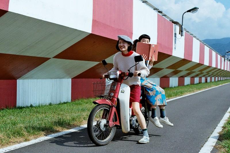 画像1: 松山空港駅近くの撮影スポット「觀山河濱公園」