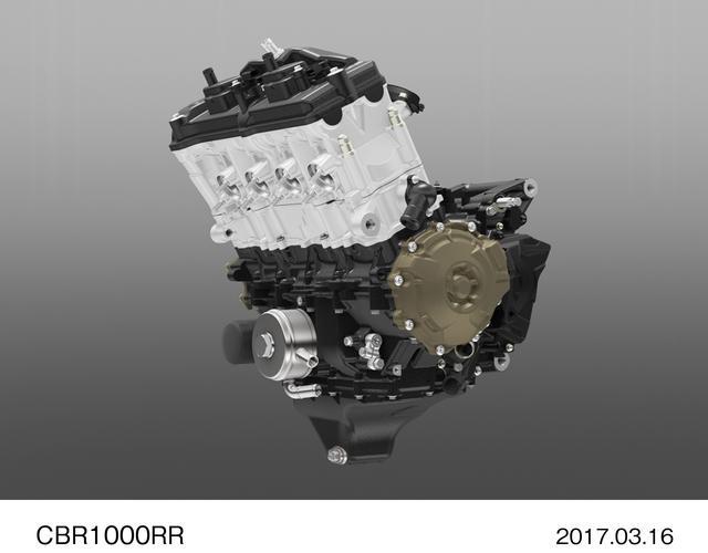 画像: 999ccの直列4気筒エンジンは13000rpmで最高出力192馬力。13000rpmってスゴすぎる……
