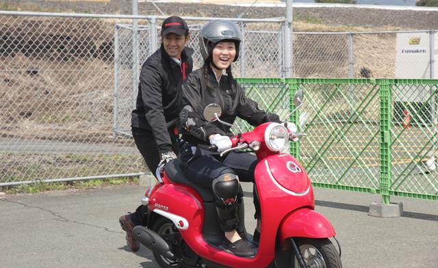 画像2: バイクの免許が無くてもOK!