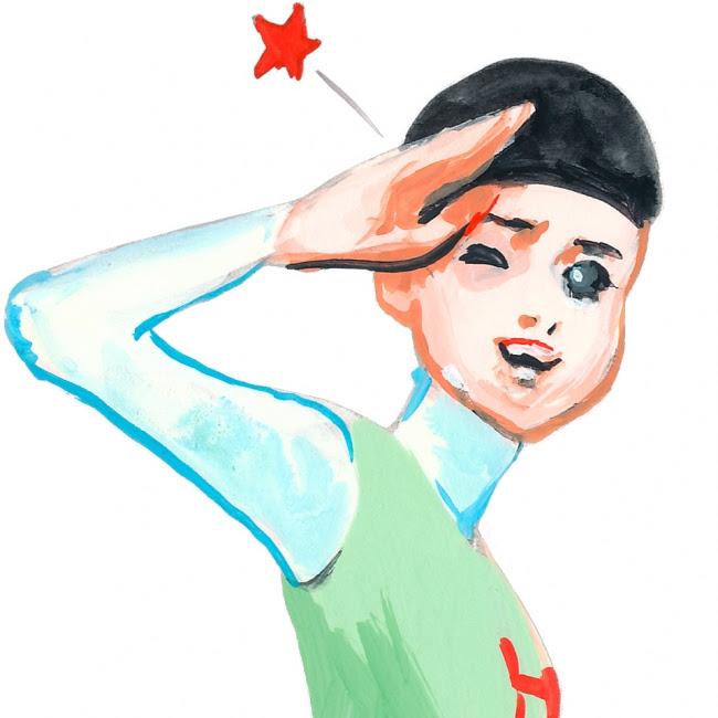 画像: 五月女 ケイ子 日本のイラストレーター。 山口県出身。 成城大学文芸学部芸術学科卒業。 原色を多用したシュールなイラストが特徴。 本業のみならず、 タレントやコラムニストなど活動も幅広い。 放送作家・演出家であり実の夫でもある細川徹のコントユニット「男子はだまってなさいよ!」のほとんどの作品に出演している。 また、 朝日新聞の元日号に毎年絵を描いている。
