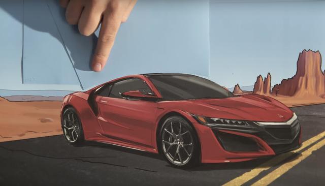 画像: さいごにはNSXが!2016年発売の超高級スーパーカーです。ちなみに、お値段は2300万円越え…!
