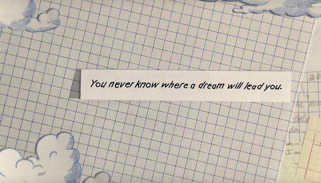"""画像: """"夢の行き先は誰も知らない""""となるでしょうか。ホンダらしいメッセージです。"""