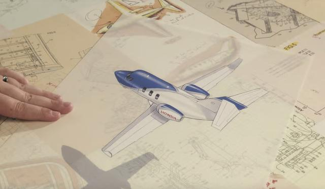 画像: 小型ビジネスジェット機、ホンダジェット!