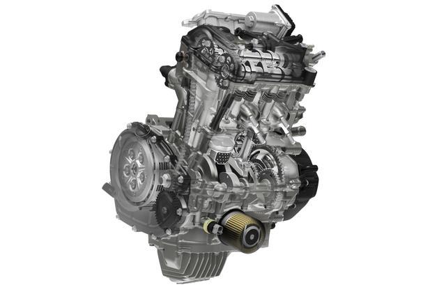 画像1: パワーだけが自慢じゃないエンジン