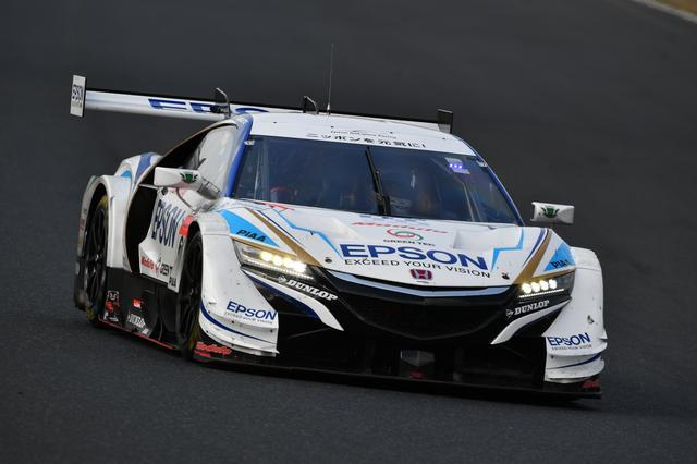 画像: #64 Epson Nakajima Racing「Epson Modulo NSX-GT」 Driver:ベルトラン・バゲット/松浦孝亮