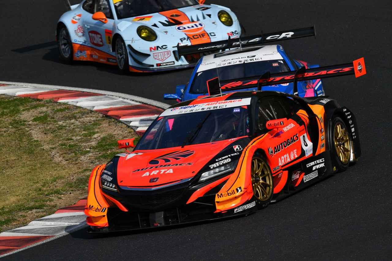 画像: #8 AUTOBACS RACING TEAM AGURI「ARTA NSX-GT」 Driver:野尻智紀/伊沢拓也