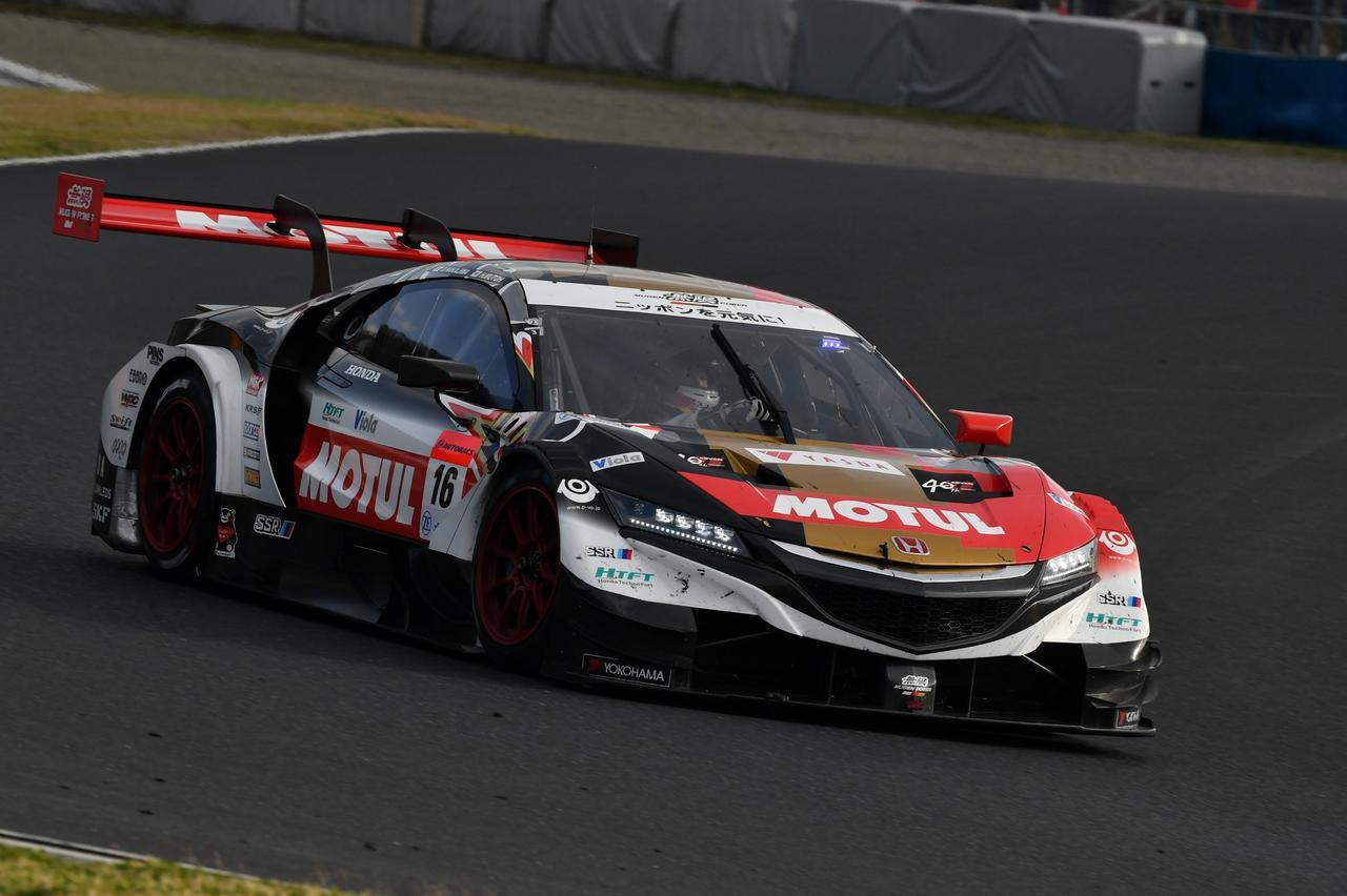 画像: #16 TEAM MUGEN「MOTUL MUGEN NSX-GT」 Driver:武藤英紀/中嶋大祐