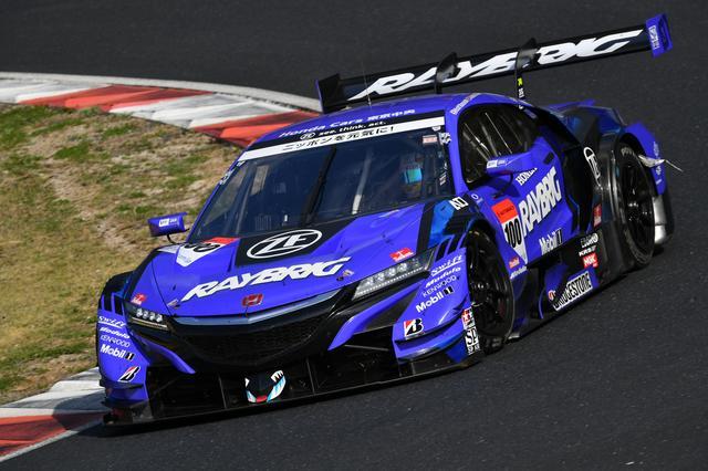 画像: #100 TEAM KUNIMIITSU「RAYBRIG NSX-GT」 Driver:山本尚貴/ジェンソン・バトン