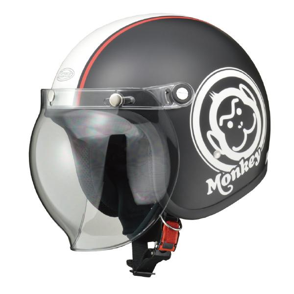画像: Hondaモンキーヘルメット ブラック×ホワイト ¥16,000 +消費税 www.honda.co.jp
