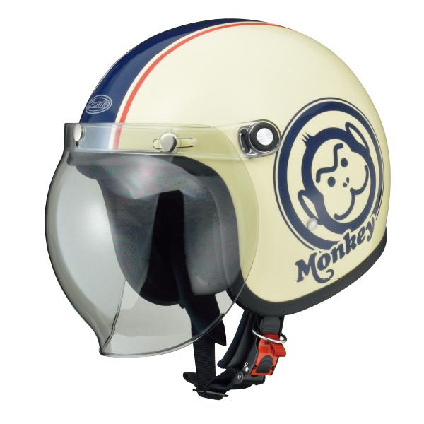 画像: Hondaモンキーヘルメット アイボリー×ブルー ¥16,000 +消費税 www.honda.co.jp
