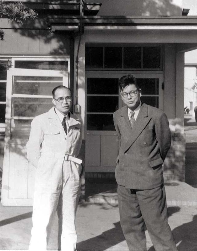 画像: 本田宗一郎(左)と藤澤武夫・・・小さな企業だったホンダを、世界のホンダに育て上げた2人です。 www.honda.co.jp