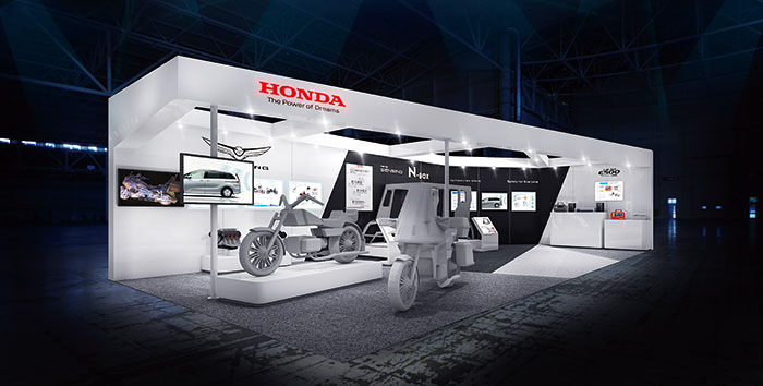 画像: 「人とくるまのテクノロジー展2018 横浜」 Hondaブースイメージ www.honda.co.jp