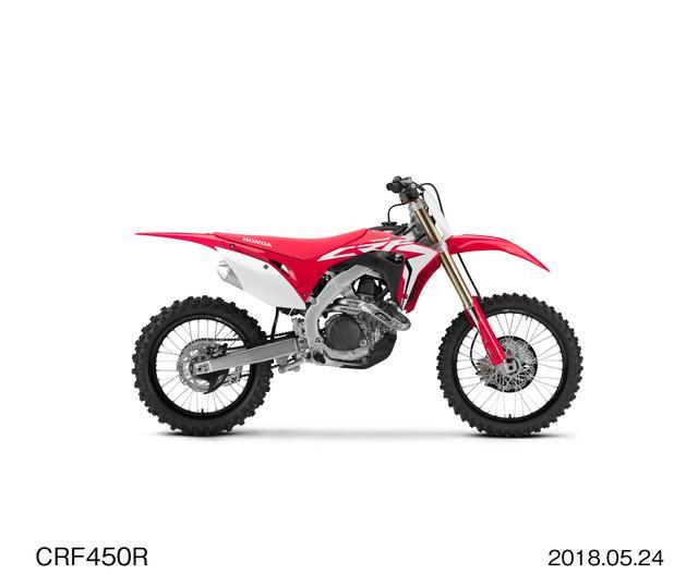 画像: CRF450R エクストリームレッド(写真は輸出仕様⾞) メーカー希望小売価格(消費税 8%込み) 966,600円(消費税抜き本体価格 895,000 円)