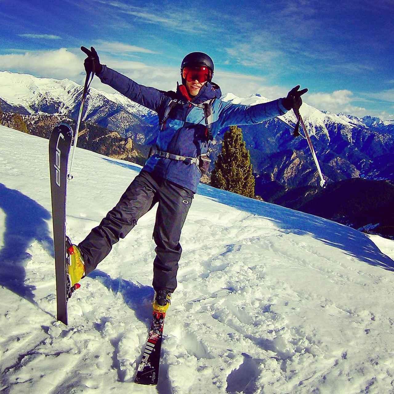 画像1: Marc MárquezさんはInstagramを利用しています:「#mountain #ski #winter #2018」 www.instagram.com